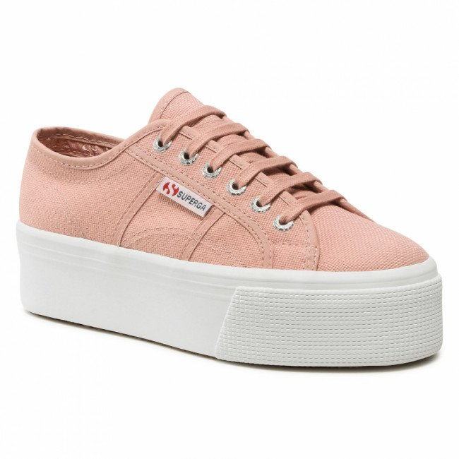 Tenisky SUPERGA - 2790 Cotw Linea Up And Down S9111LW Pink Smoke XCW