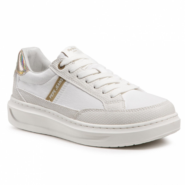 Sneakersy PEPE JEANS - Abbey Shade PLS31152 White 800