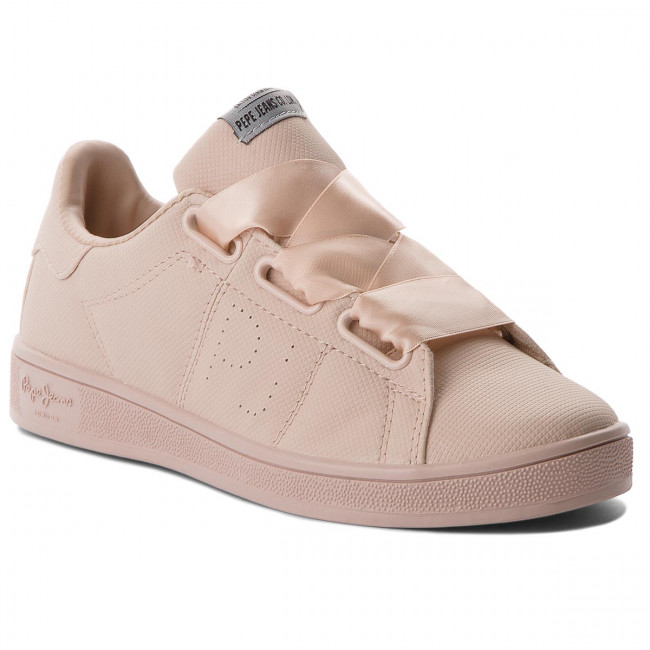 Sneakersy PEPE JEANS - Brompton Square PLS30667  Mauve Pink 319