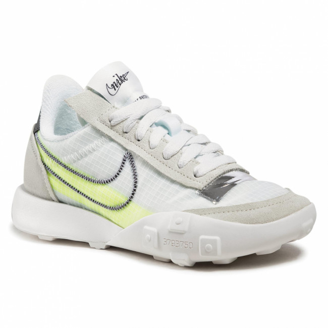 Topánky NIKE - Waffle Racer 2x DC4467 100 Summit White/Black/Volt/Chrome