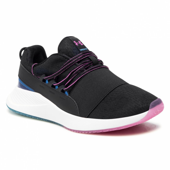 Topánky UNDER ARMOUR - Ua W Charged Breathe Clr Sft 3023658-001 Blk