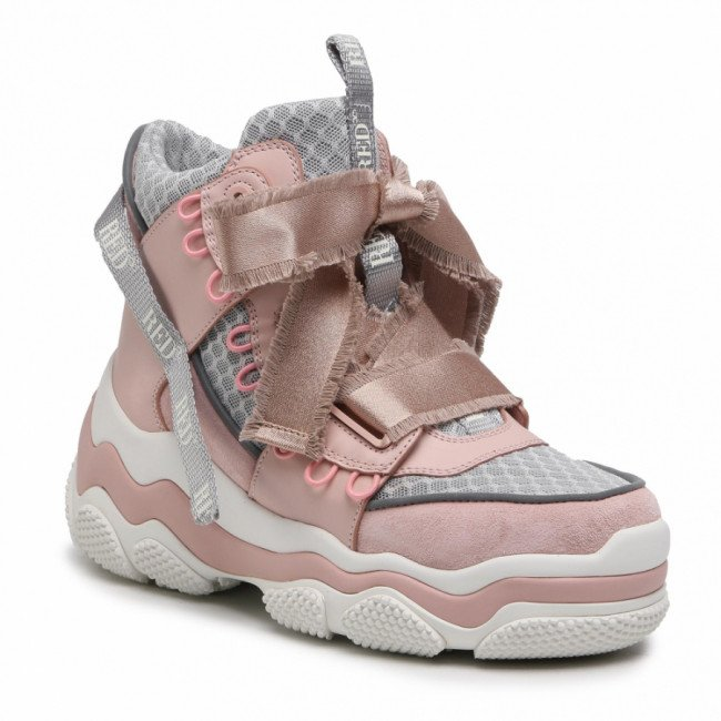 Sneakersy RED VALENTINO - VQ2S0F32 Nude/Arg N17