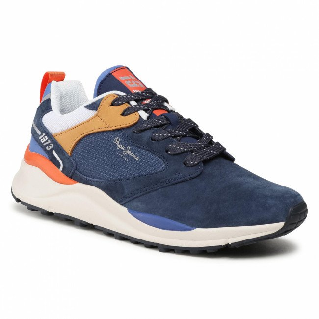 Sneakersy PEPE JEANS - Trail Light Urban PMS30740  Navy 595