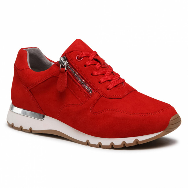 Sneakersy CAPRICE - 9-23601-26 Red Suede 524