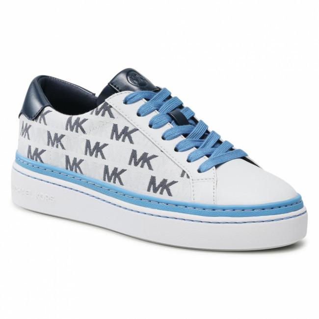 Sneakersy MICHAEL MICHAEL KORS - Chapman Lace Up 43S1CHFS1Y Navy