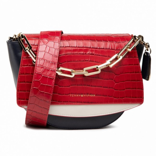 Kabelka TOMMY HILFIGER - Luxe Leather Crossover AW0AW09162 0GY