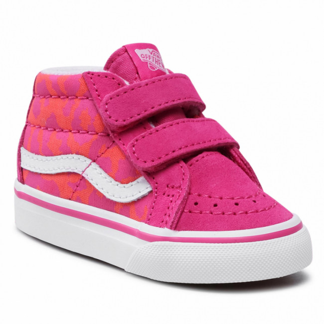 Sneakersy VANS - Sk-8-Mid Reissue V VN0A5DXD34L1 (Neon Animal)Leopard/Pink