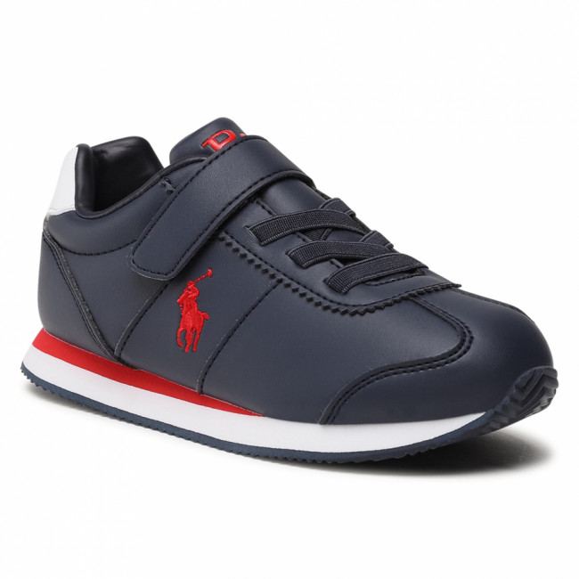 Sneakersy POLO RALPH LAUREN - Pony Jogger Ps RF102914 Navy/Red