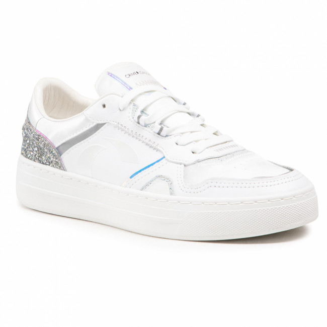 Sneakersy CRIME LONDON - Low Top Off Court 25000PP3.10 White