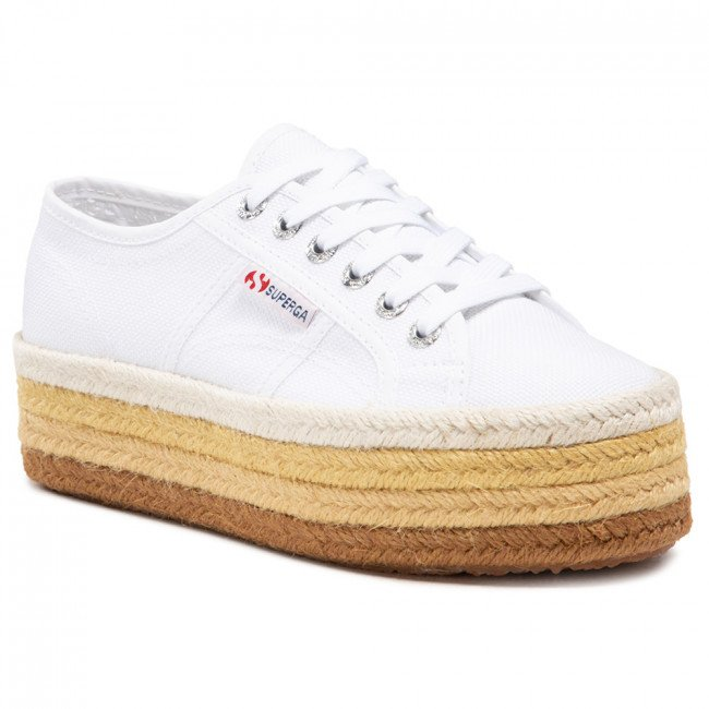 Espadrilky SUPERGA - 2790 Multicolor Rope S3114CW White/Natural A9H