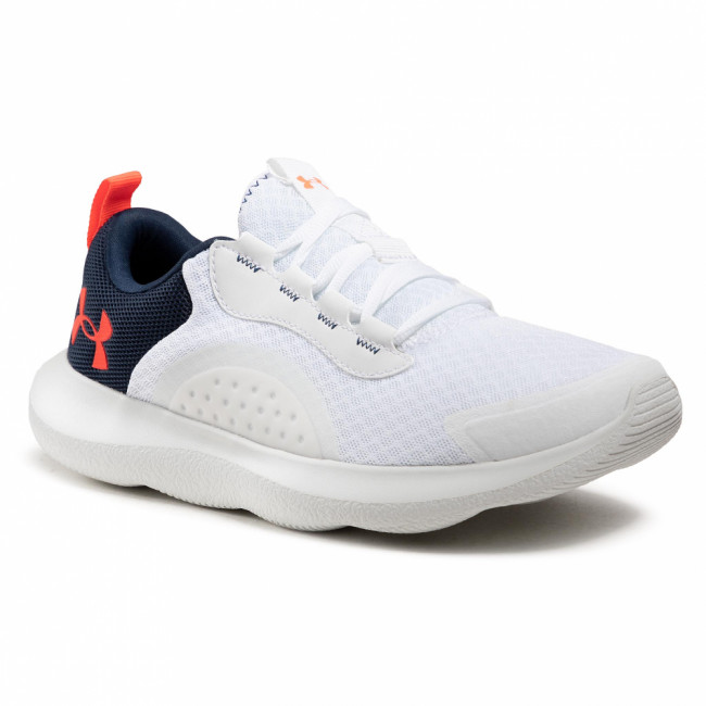 Topánky UNDER ARMOUR - Ua Victory 3023639-100 Wht