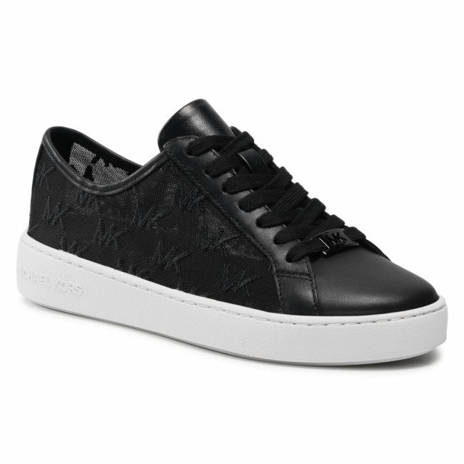 Sneakersy MICHAEL MICHAEL KORS - Olivia Lace Up 43S1OLFS2D Black