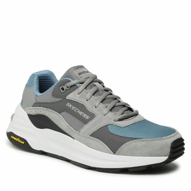 Sneakersy SKECHERS - Gobal Jogger 237200/GYBL Gray/Blue