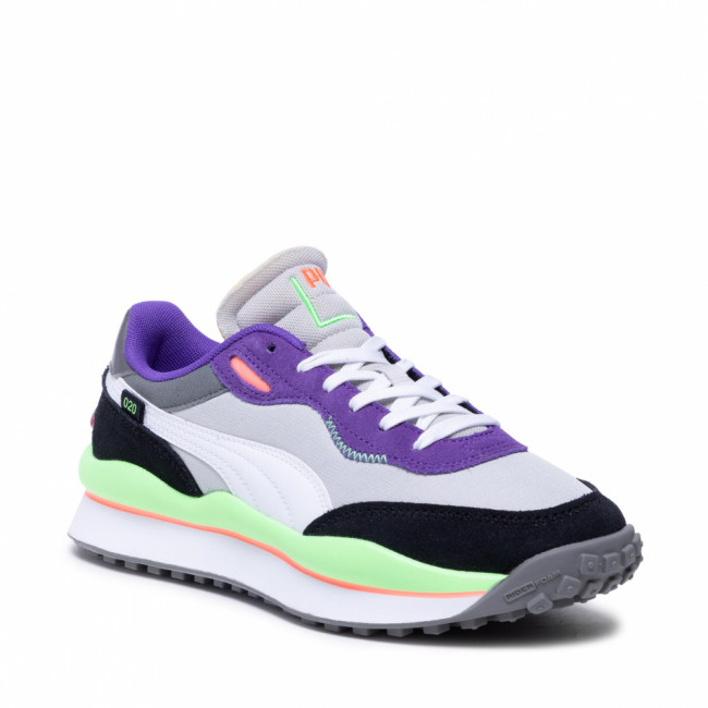 Sneakersy PUMA - Style Rider Play On 371150 08 Gray Violet/White/Ult Violet