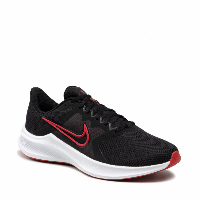 Topánky NIKE - DownShifter 11 CW3411 005 Black/University Red/White