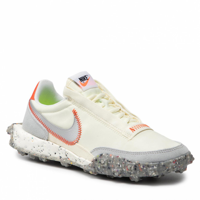 Topánky NIKE - Waffle Racer Crater CT1983 105 Coconut Milk/Metallic Silver