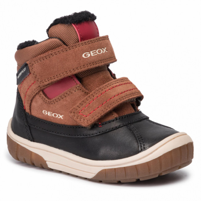 Snehule GEOX - B Omar B.Wpf B B942DB 022FU C6270 M Brown/Dk Red