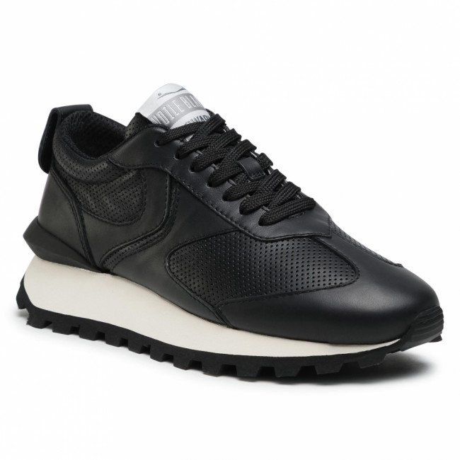 Sneakersy VOILE BLANCHE - Qwark Man 0012015856.01.0A01 Black