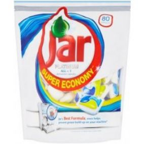 Jar Platinum All in 1 Yellow&Blue 80 tablet