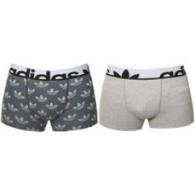trenky adidas Originals Knitted Boxer 2 Pack Print