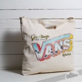 Vans Driftin´ Away Tote Natural Bag US 20 Litrů