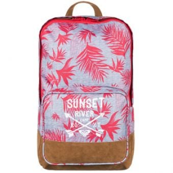 Roxy Batoh Pink Sky Girl 17L Indo Floral Heritage