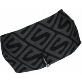 Salomon čelenka Bandana Tube Black/Dark Cloud