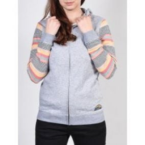 Roxy Dance To The Music Zip SGRH Heritage Heather