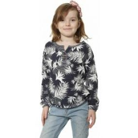 tričko Roxy Warmin UP LS Kid's BTN6 Indo Floral