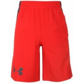 Under Armour Accelerate Shorts Mens Red
