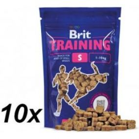 BRIT Training Snack S 10x200g