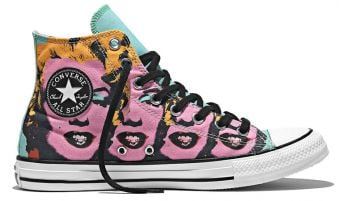 Converse CT All Star Andy Warhol Marilyn Monroe