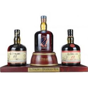 El Dorado Display 12YO, 15YO, 21YO 3x0,7 l