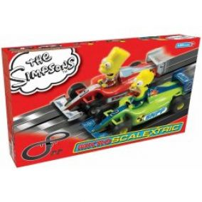 Scalextric MICRO G1117 The Simpsons 1:64
