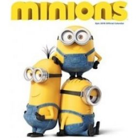 Official Minions Movie 2016 Square Calendar