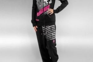 Dangerous Oria Sweat Suit Black