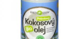 Purity Vision Bio kokosový olej 900 ml