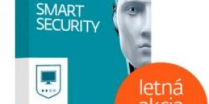 Eset NOD32 Smart Security 1 lic. 12 mes.