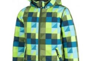 Color Kids Saigon jacket AOP Green