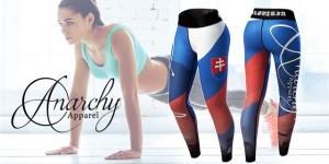 Fitness legíny značky Anarchy Apparel v