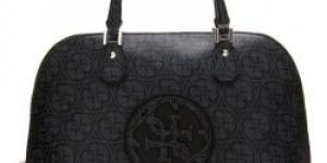 Guess Carly Logo Satchel