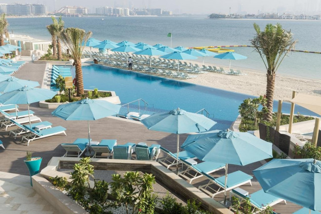Letecky Dubaj: The Retreat Palm by Sofitel 5*