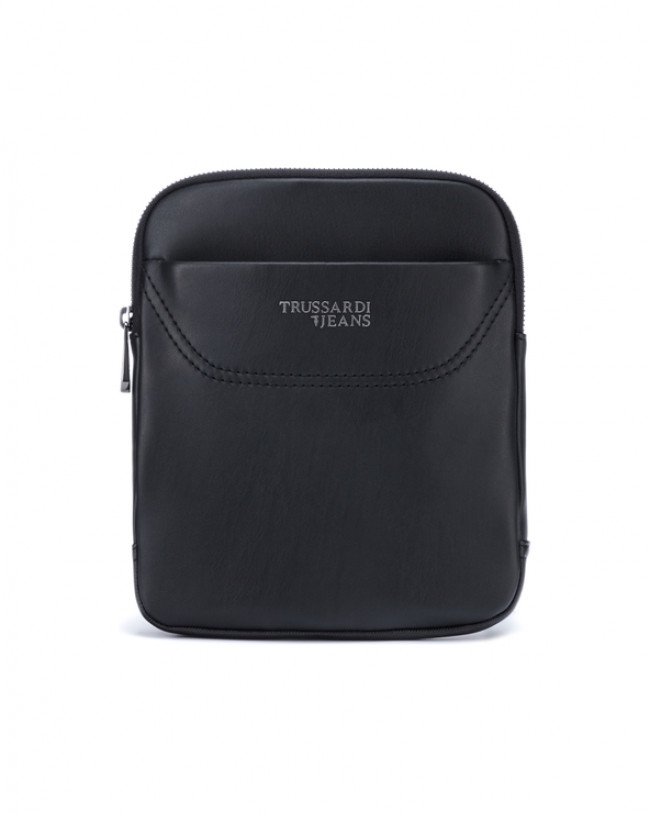 Trussardi Jeans Business City Small Cross body bag Čierna