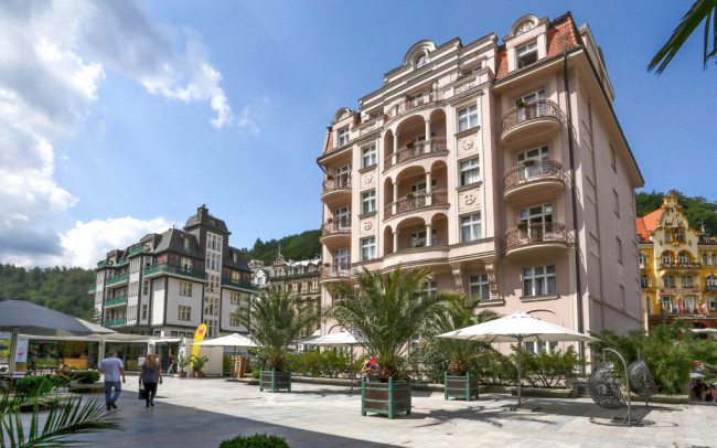 Karlove Vary: ASTORIA complex, Depandance Wolker *** s polpenziou a wellness - Depandance Wolker *** (ASTORIA Hotel & Medical Spa ****)