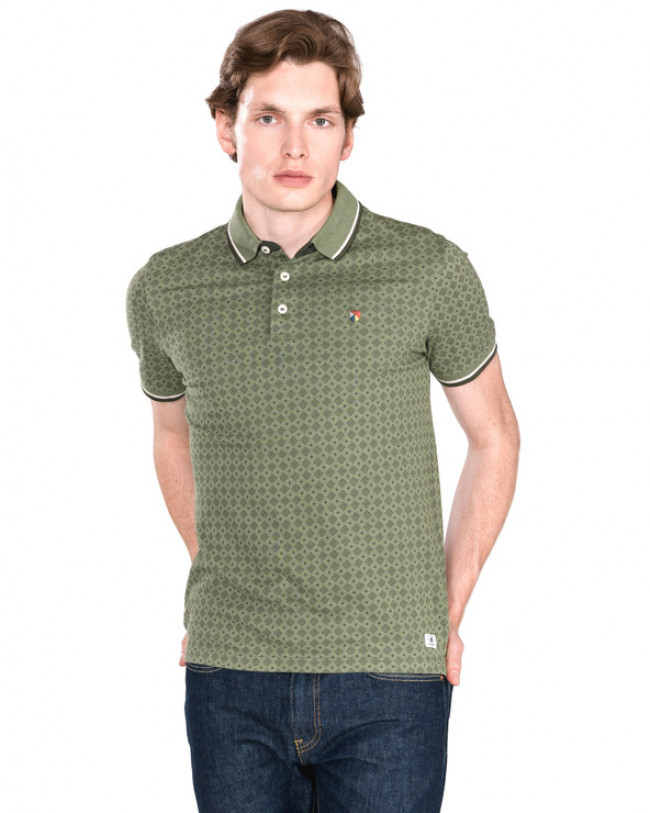 Jack & Jones Paulos Polo tričko Zelená