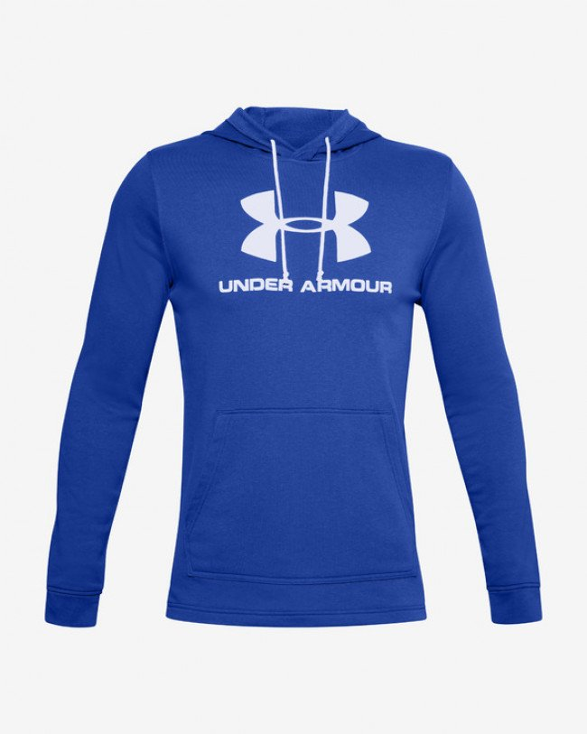 Under Armour Terry Mikina Modrá