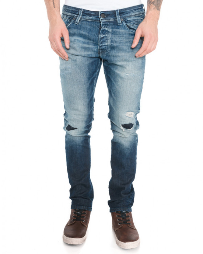 Jack & Jones Glenn Fox Jeans Modrá