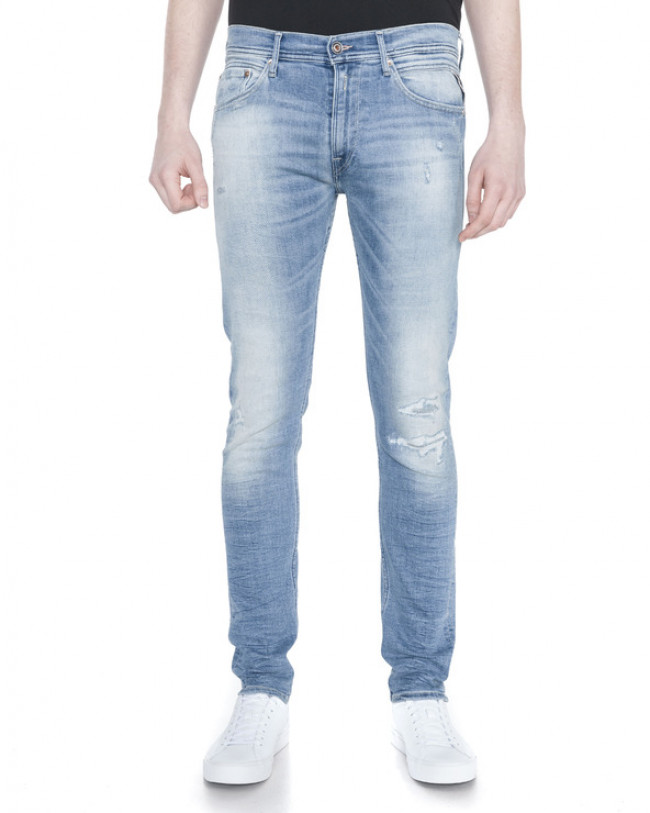 Replay Jondrill Jeans Modrá