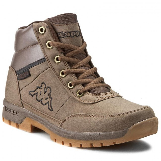 Trekingová obuv KAPPA - Bright Mid Light 242075 Brown 5050
