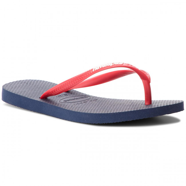 Žabky HAVAIANAS - Sl Logo Pop-Up 41197875603 Navy/Red Ruby
